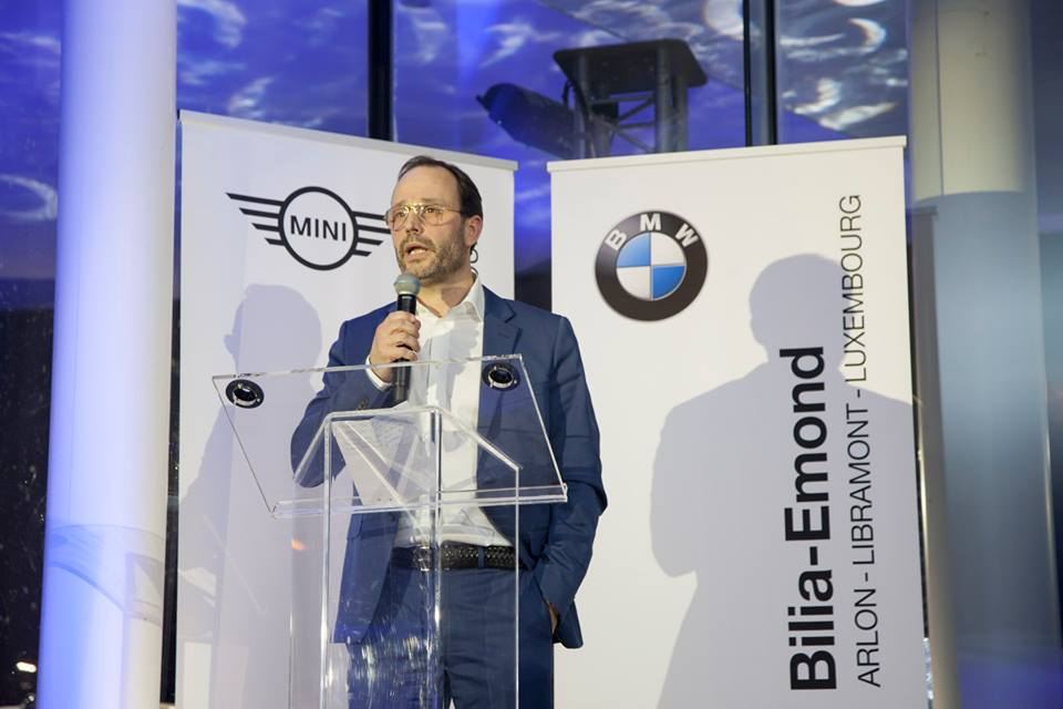 Inauguration BMW Bilia-Emond Luxembourg avec Atmosphère Lux
